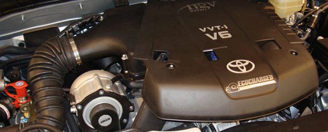 Toyota Tacoma Supercharger