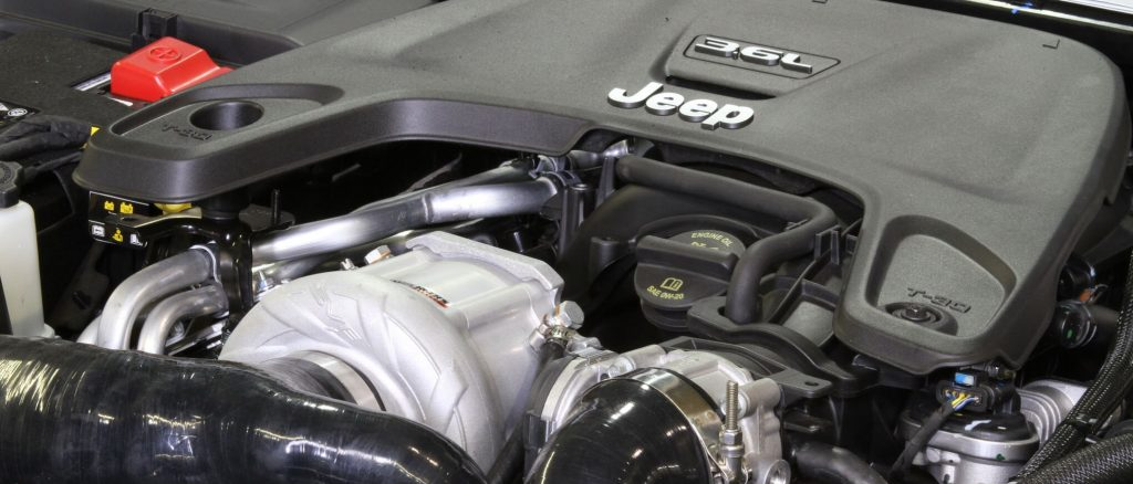 Jeep Wrangler and Jeep Gladiator Supercharger Kit