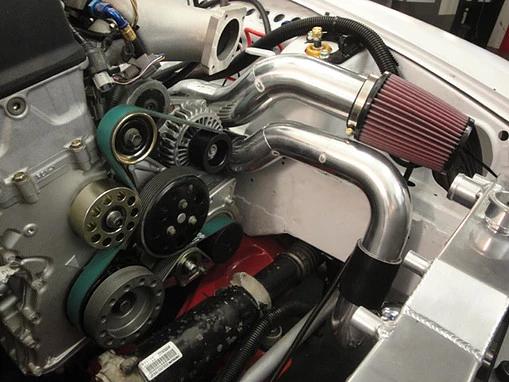 Honda S2000 Bottom Mount Race Kit supercharger