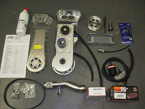 Honda VTX1800 supercharger kit