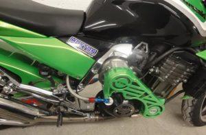 Kawasaki Z1000 supercharger kit