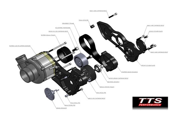 Suzuki GSX1300 Hayabusa Supercharger kit
