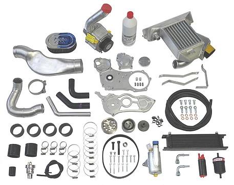 Suzuki Hayabusa Supercharger Kit