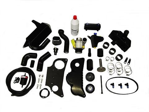Triumph 1050cc Speed Triple supercharger kit