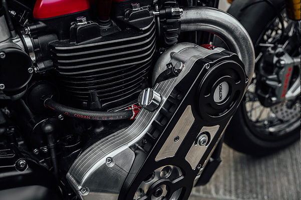 Triumph Thruxton R supercharger kit