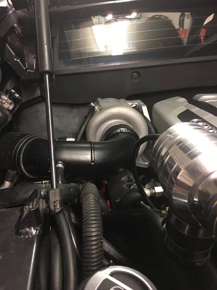 Audi R8 supercharger kit