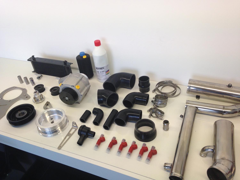 Porsche 993 supercharger kit