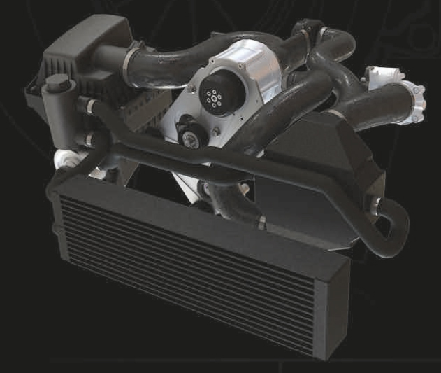 GM truck SUV supercharger kit